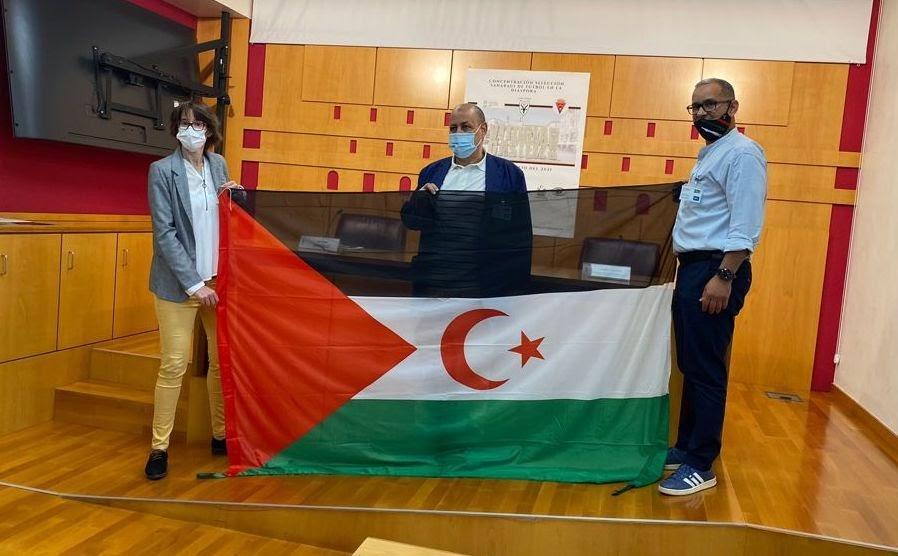 فريق الجالية الصحراوية لكرة القدم يتأهّب لإجراء تدريبات بمدينة فيتوريا الباصكية تمهيدا لخوض مباراة مع فريق Abetxuko