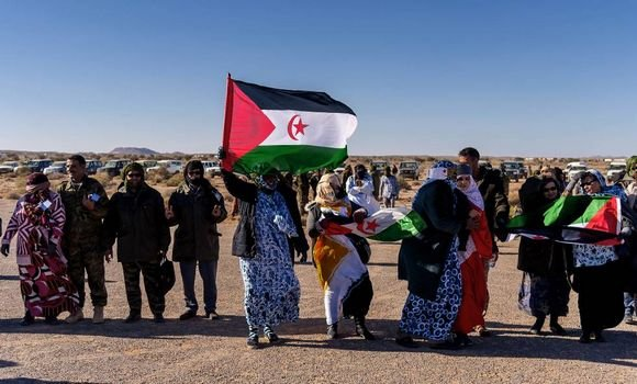 حزب الحركة الاشتراكية الغاني يدعو الى انهاء الاحتلال المغربي لتراب الجمهورية الصحراوية