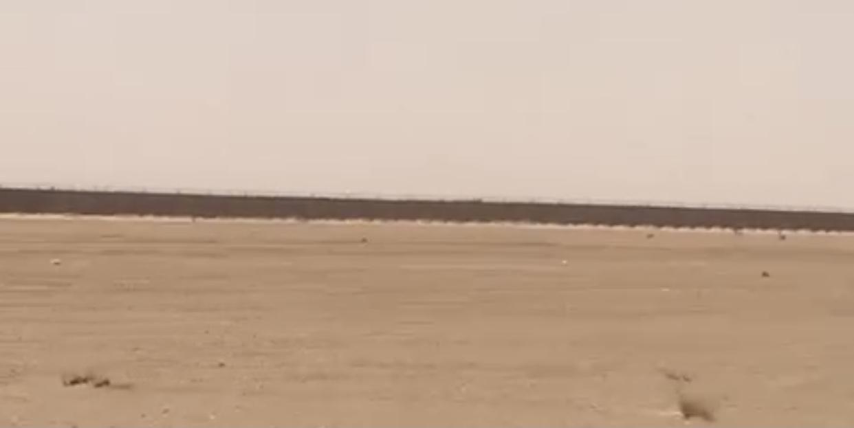 الاحتلال المغربي يشيد مطاراً بمنطقة بيرنزران بالأراضي الصحراوية المحتلة