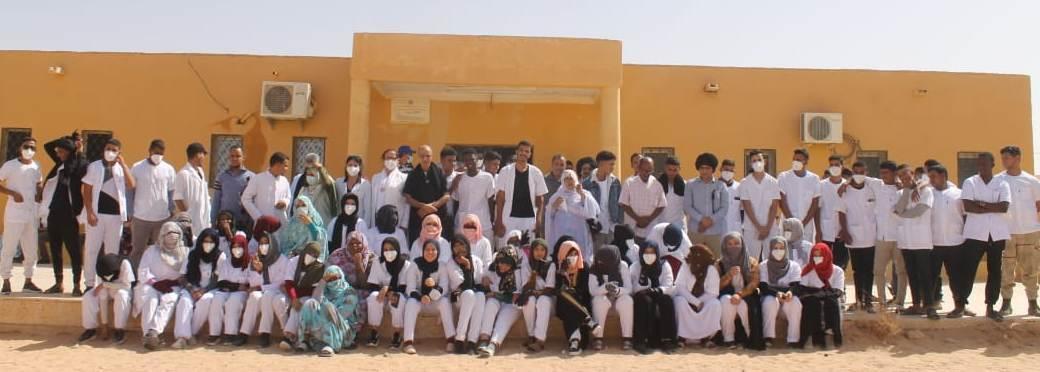 افتتاح الموسم الدراسي الجديد بمدرسة الشهيد أحمد عبد الفتاح للتكوين شبه الطبي