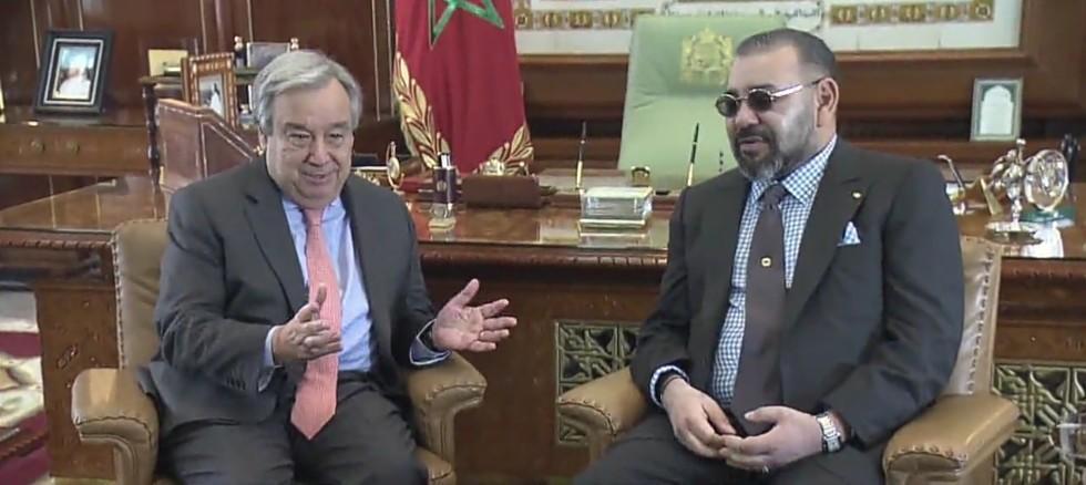 ما محتوى الوثيقة التي أراد من خلالها غوتيريس تذكير المغرب بالتزاماته المتعلقة بتنظيم استفتاء تقرير المصير بالصحراء الغربية؟