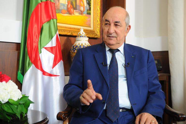 الرئيس عبد المجيد تبون : ملف الصحراء الغربية مطروح امام لجنة تصفية الاستعمار، والمغرب يفضل دائما التستر خلف دولة اجنبية