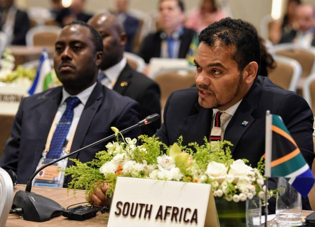 جنوب افريقيا : إحياء مسار المفاوضات يجب ان يفضي الى تنظيم استفتاء تقرير المصير بالصحراء الغربية