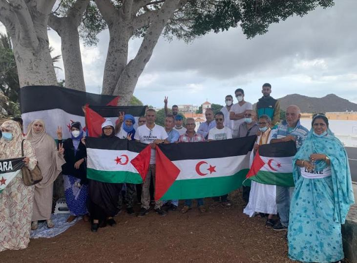 الجالية الصحراوية بجزيرة تنريفي تخلد الذكرى 46 للوحدة الوطنية