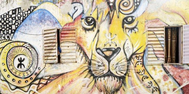 La Médina de Dakar, une galerie de street art à ciel ouvert