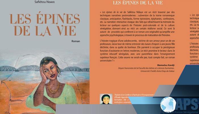 Le roman ''Epines de la vie'', partage un point de vue sur la réalité sociale en milieu scolaire (auteure)
