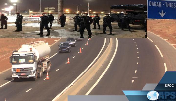 Covid-19: Dakar et Thiès restent sous couvre-feu pour huit jours supplémentaires