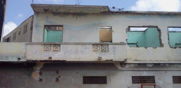Un symbole en ruine : L'ancien siège du PDS dans un état lamentable