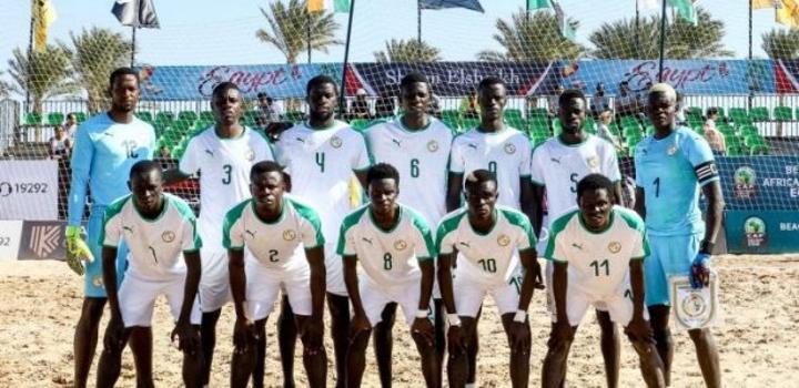 Coupe du Monde Beach Soccer 2021 : Les Lions en regroupement aujourd'hui
