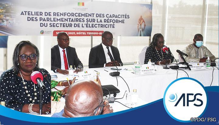 Le nouveau Code de l'électricité présenté aux députés de la commission de l'énergie