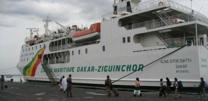 Liaison maritime Dakar-Ziguinchor : Disparition