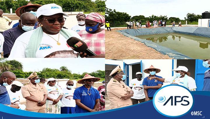 Fatick: des ouvrages aquacoles pour promouvoir l'emploi des jeunes et des femmes