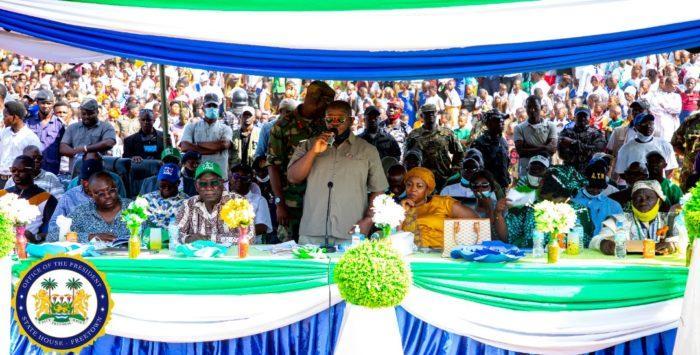 President Bio launches vocational skills development fund