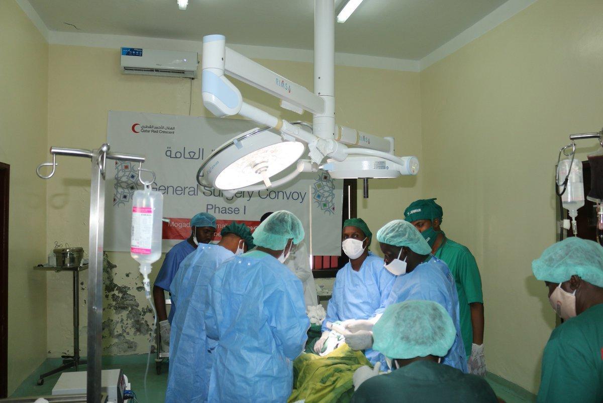 الهلال الأحمر القطري ينفذ حملتين طبيتين في الصومال