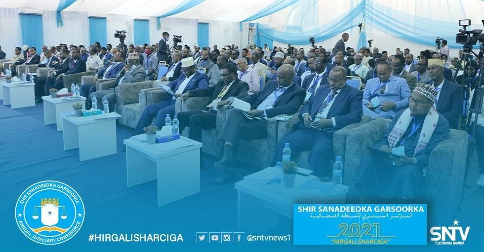 إنطلاق أعمال المؤتمر السنوي للمؤسسات القضائية في البلاد