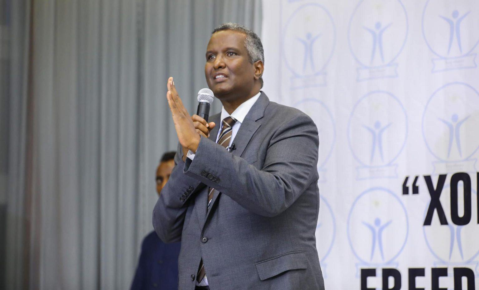 زعيم حزب ودجر يحذر من خطة لتقسيم الجيش الصومالي