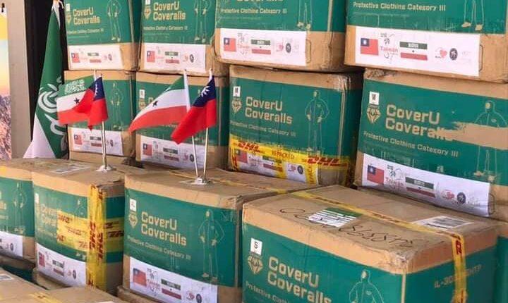 تايوان تسلم إمدادات طبية لسلطات أرض الصومال
