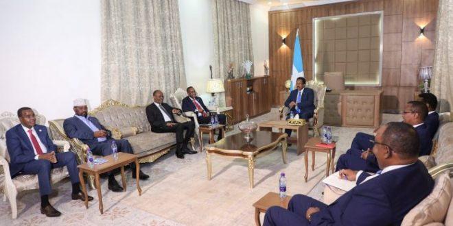 إنطلاق المشاورات بين الأطراف الصومالية في مقديشو العاصمة