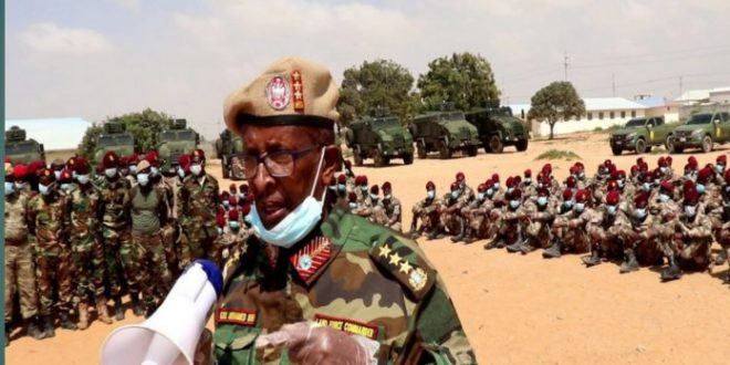 الجيش الصومالي يقتل 76 مقاتلا من حركة الشباب المتشددة