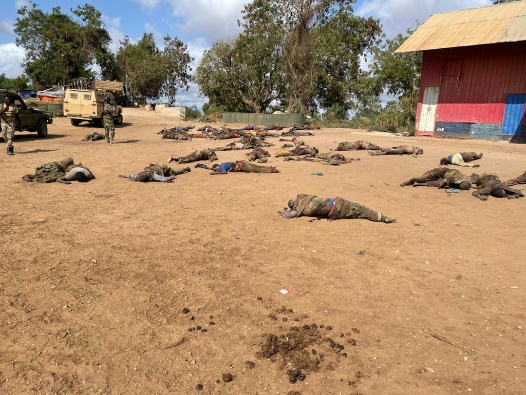 الجيش الوطني ينشر صورا لقتلى الارهابيين في منطقة أوطيغلي