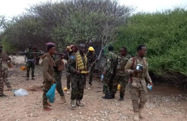 استيلاء الجيش الصومالي على مناطق تابعة لمدينة دوسمريب