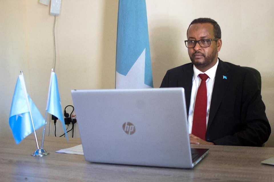في اجتماع طارئ لمنظمة المؤتمر الإسلامي ، الصومال تدعو المجتمع الدولي إلى لعب دور حيوي لوقف العدوان الإسرائيلي على فلسطين