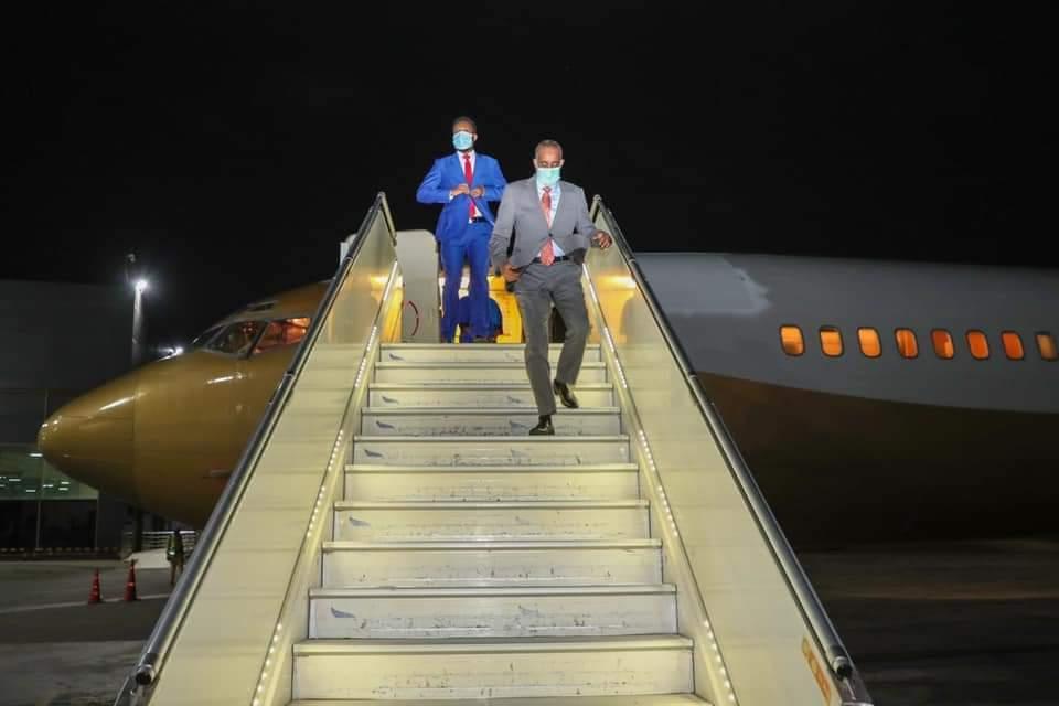 رئيس الوزراء يعود إلى البلاد قادما من جيبوتي