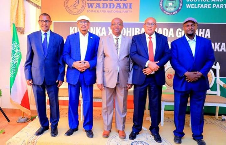 تحالف المعارضة في أرض الصومال يعلن عن مرشحيه لرئاسة مجلس النواب