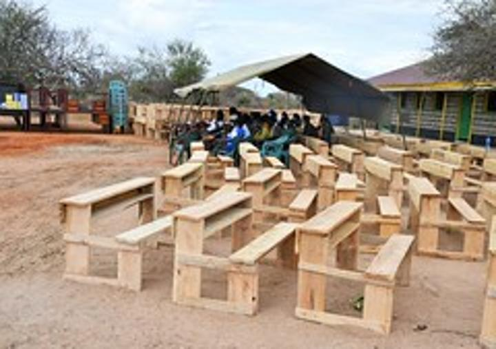 بعثة الاتحاد الأفريقي في الصومال تدعم مدرسة ابتدائية لتعزيز التعليم في محافظة غدو