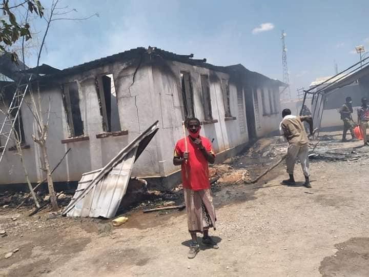 إدانة إحراق عيادة طبية في مدينة بارديرا في جنوب الصومال