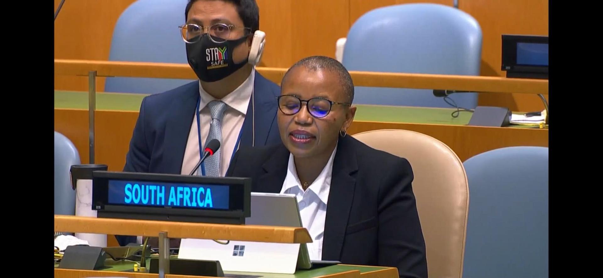 جنوب افريقيا تحذر من التداعيات الخطيرة لعدم تحرك مجلس الامن الدولي إزاء الوضع في الصحراء الغربية