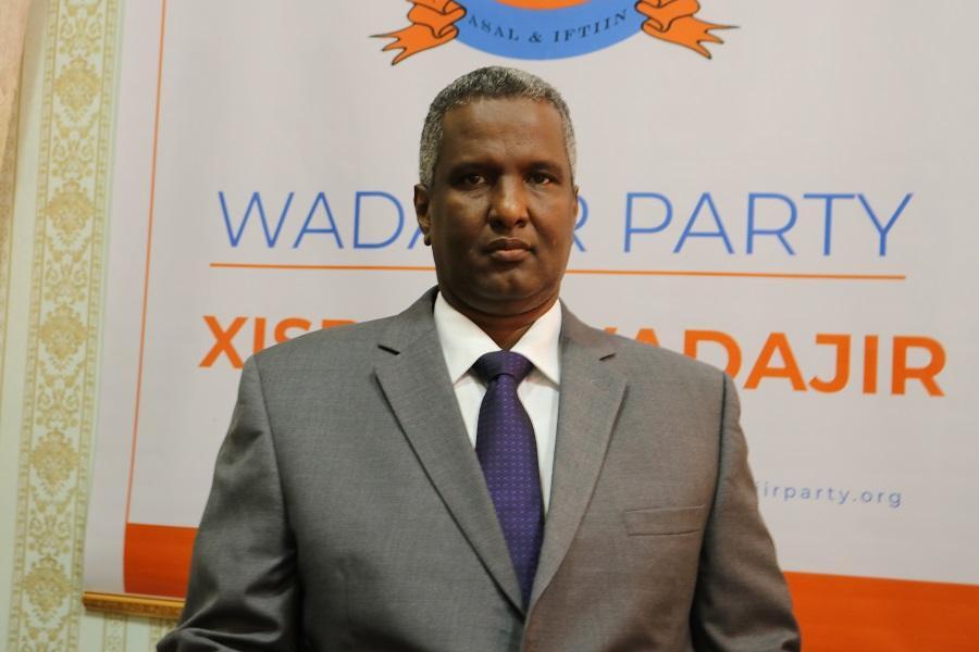 زعيم حزب ودجر يدعو إلى دعم رئيس الوزراء الصومالي