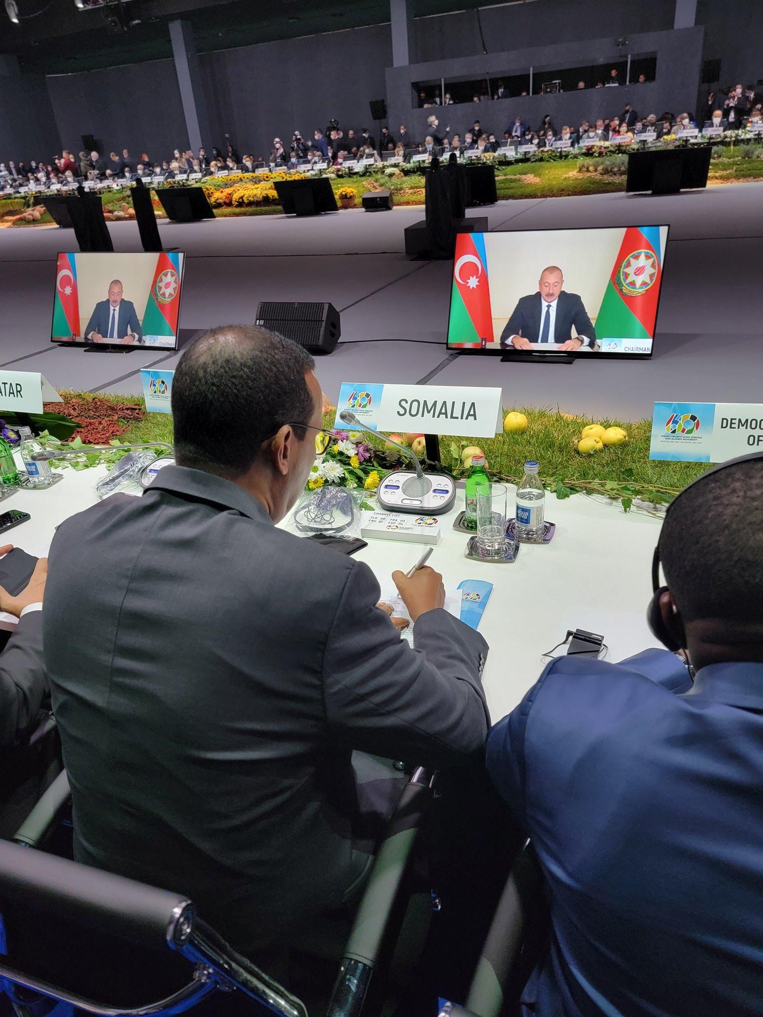 الصومال يشارك في قمة حركة عدم الانحياز في بلغراد
