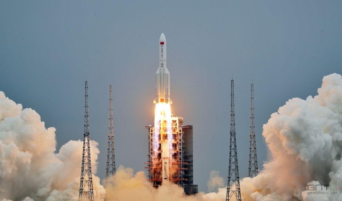 توقعات بسقوط الصاروخ الصيني في بلد بشمال إفريقيا