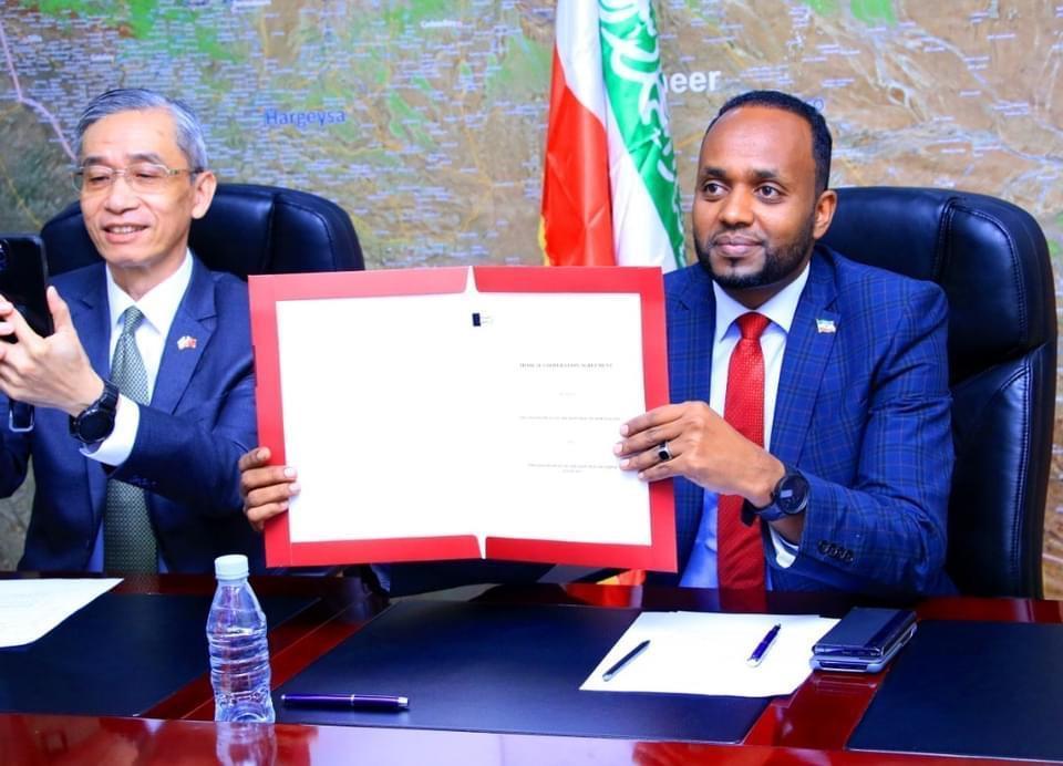 أرض الصومال وتايوان توقعان اتفاقية تعاون في مجال الرعاية الصحية