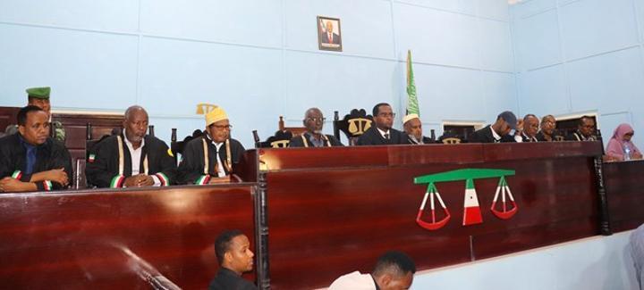 المحكمة العليا في أرض الصومال تستمع إلى شكاوى بعض المرشحين
