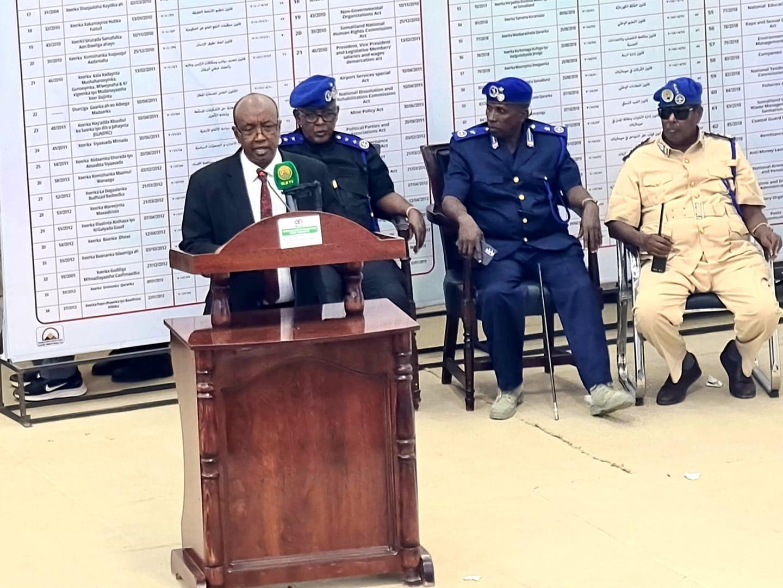 فوز عبد الرزاق خليف برئاسة مجلس النواب بإدارة أرض الصومال