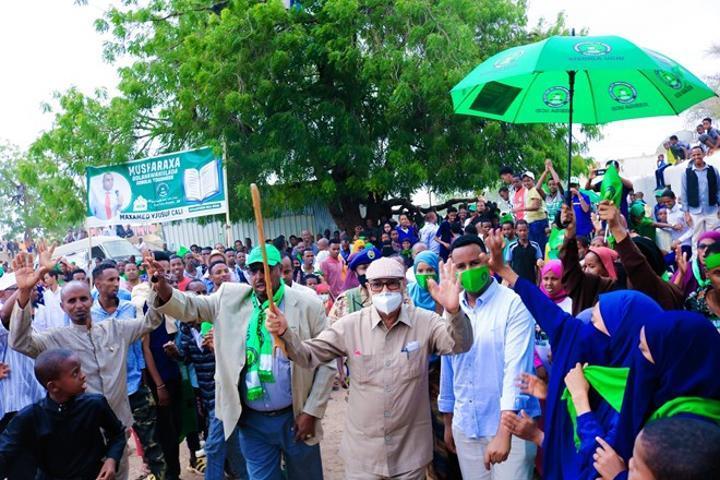انطلاق الحملات الانتخابية في أرض الصومال