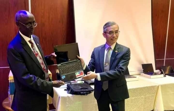 تايوان تتبرع بأجهزة التحقق من الناخبين على أرض الصومال