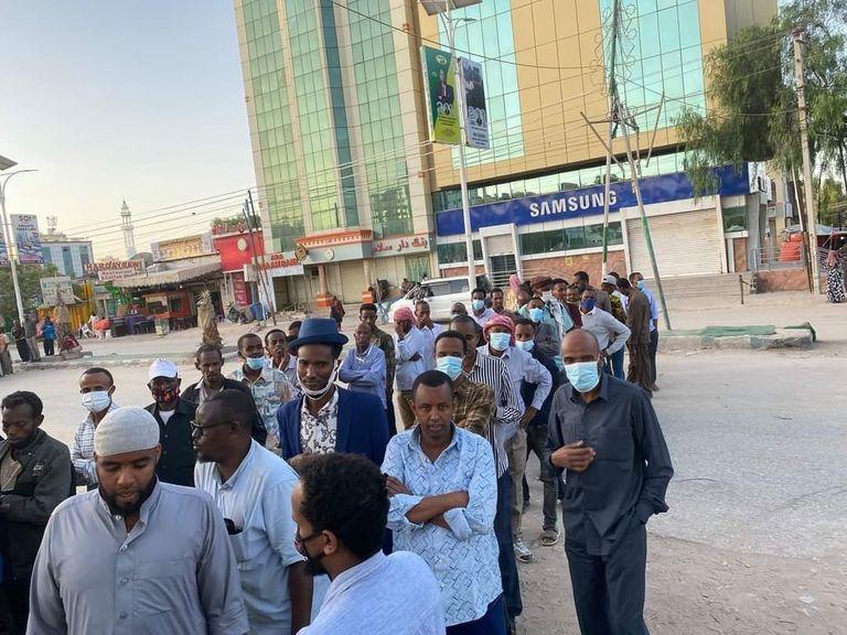 بدء عملية التصويت للانتخابات البرلمانية والمحلية في أرض الصومال