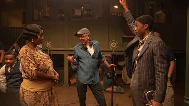 Viola Davis felt 'in the presence of greatness' alongside Chadwick Boseman