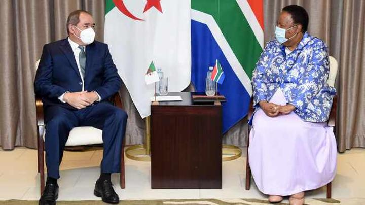 Algeria hails South Africa's leadership on the continent