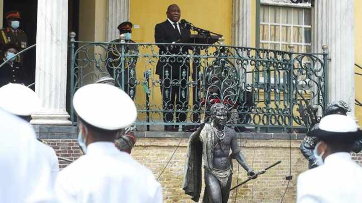 Armed Forces Day: President Ramaphosa commemorates sinking of SS Mendi in Cape Town