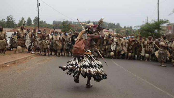 Zulu traditions reign supreme as King Goodwill Zwelithini is laid to rest