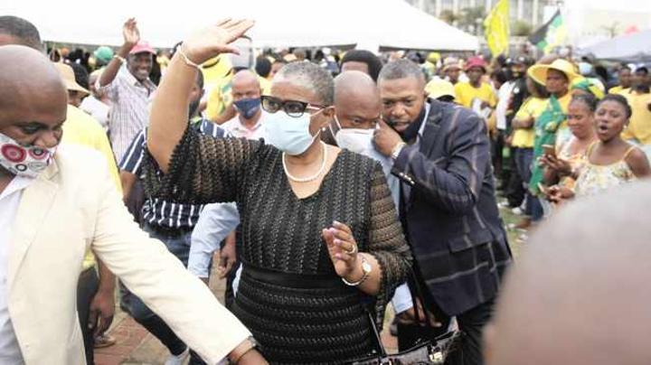 Zandile Gumede rebukes ANC leaders who support FW De Klerk