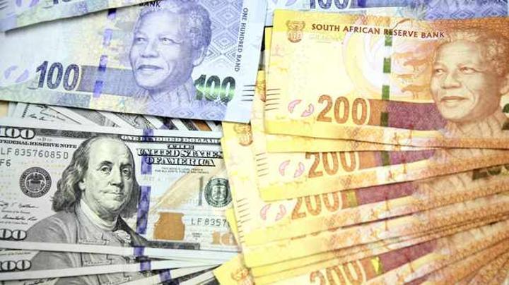 Rand hovers near five-week peak as dollar softens