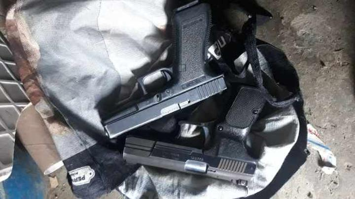 Four robbery suspects arrested in Cape Town, guns confiscated