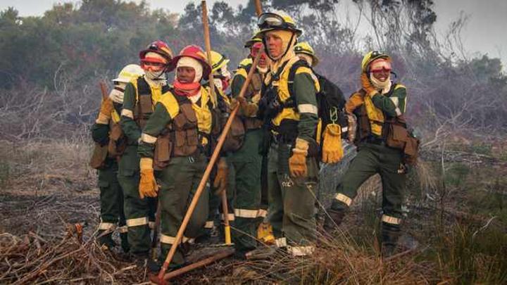 The Juliet Crew: How SA's first all-female fire crew battled Cape Town blaze