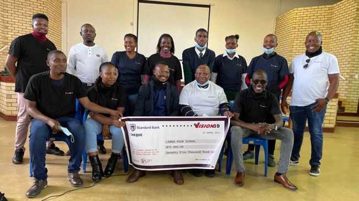 Bursaries worth R75 000 donated to Langa High School