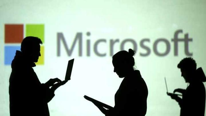 Microsoft patents Logo shaped under-display camera tech